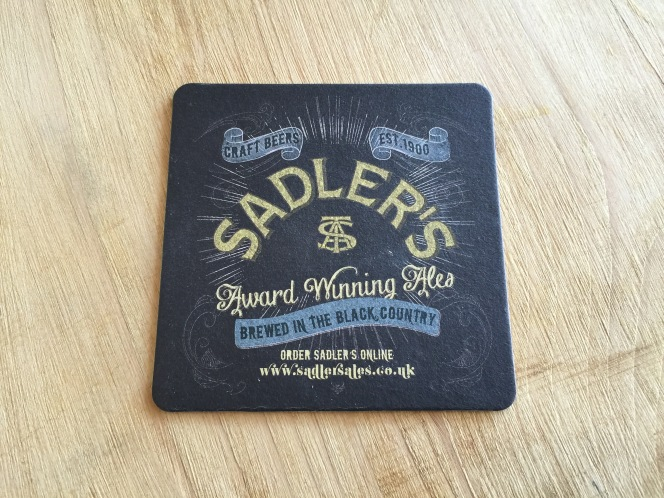 Sadler's beer mat