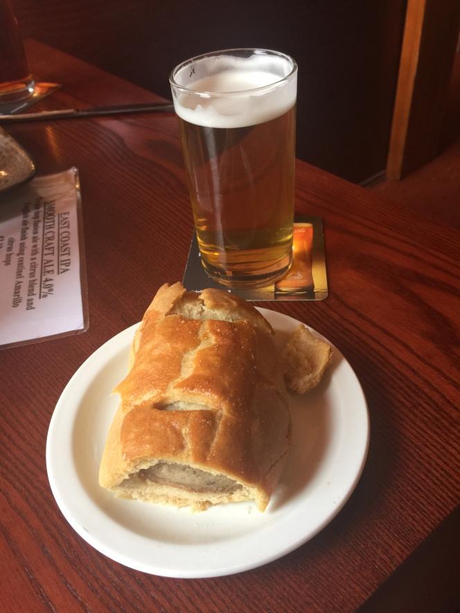 The Shovel sausage roll