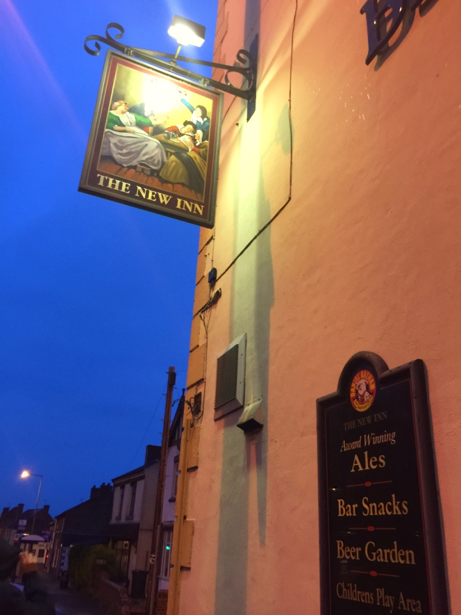 The New Inn sign