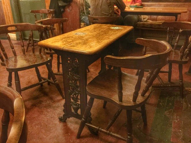 Waggon and horses table 2
