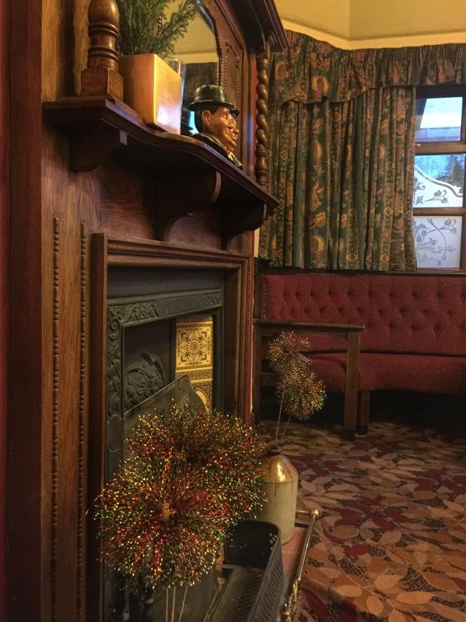 The Woodman fireplace 2