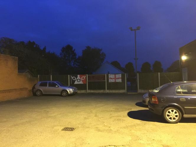 Glasscutters Arms car park
