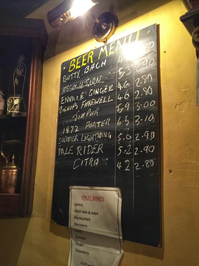 The Stump beers