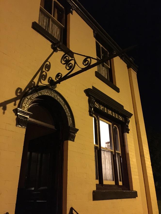 The Beacon Hotel door