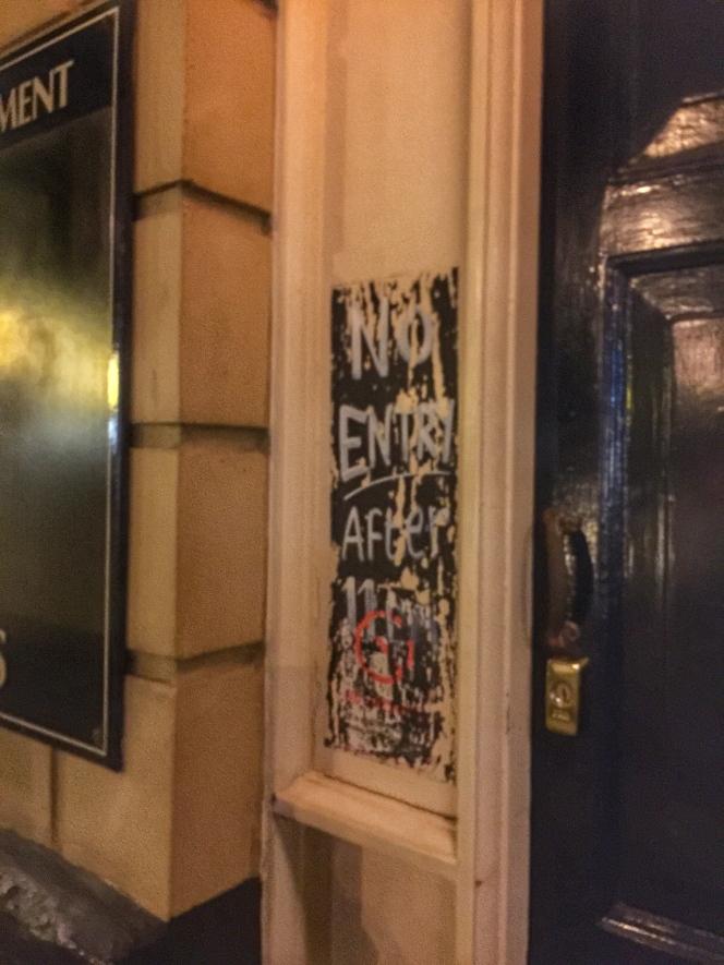 The Maverick door