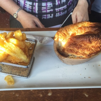 Steak pie Mad O'Rourkes
