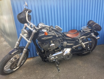 Harley Davison motorbike